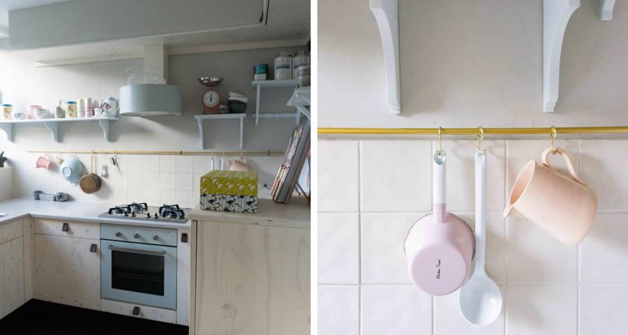 Keuken Make Over : Keuken makeover details confetti stories