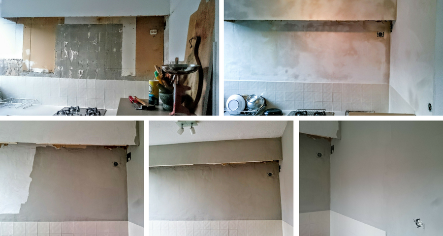 Keuken Make Over : Keuken makeover stucen en schilderen confetti stories