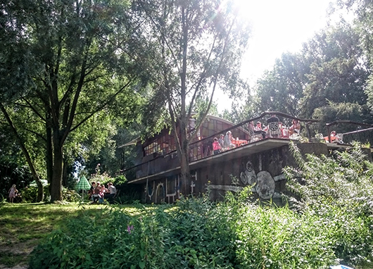 Paviljoen op de stadsblokkenwerf | Arnhem-Zuid