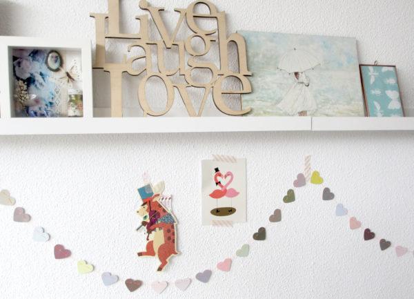 DIY | Hartjes slinger van kleurstalen