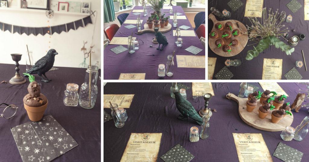 Vaak Kinderfeestje | Harry Potter thema - Confetti Stories &FZ68