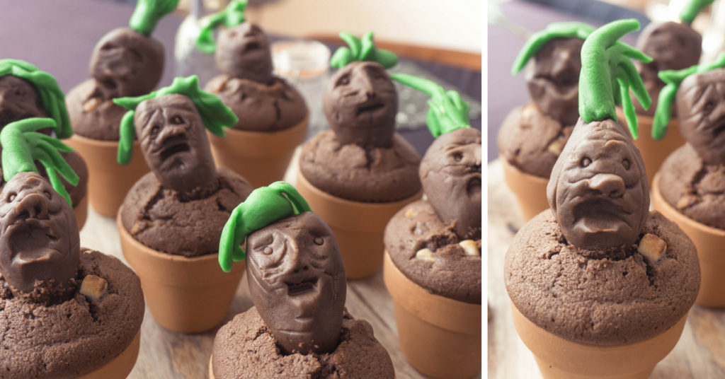 harry-potter-kinderfeestje-mandragora-cake